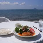 カフェキッサシーユー - 料理写真:ハンバーグ