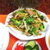新京 - 料理写真:レバニラ炒めとライスセット