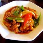 中国菜家明湘園 - 酢豚!(2014,08/30)