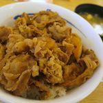 松屋 - 料理写真:牛めし並290円、プレミアム牛めしはまだかな~