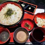 光庵 - 三味うーめん(麺大盛り)