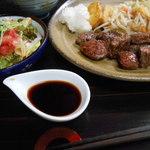 ビストロ鉄彩 - ステーキランチ!¥1.000