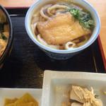 味の華 - 小鉢は高野豆腐の炊いたん☆