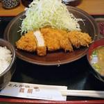 とんかつ義絹 - 料理写真:ロースかつ 800円 (2013/10) (^^