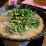 湖陽樹 - 2-1)湖陽樹式担々麺・新味(900円)