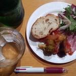 30467131 - ミラノセットの前菜。