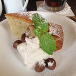 クーデリー カフェ - 日替りケーキ