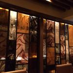 カメリーノ デッロスピタリタ - ステンドグラスの個室