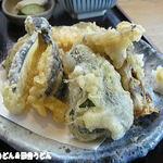 うどん茶屋 三男坊 - セットの天ぷら
