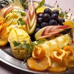 カラオケ ドレミファクラブ - 人気のフルーツ盛り合わせ 記念日にどうぞ