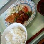 茨木スカイレストラン - 定食~なんかちょっとうれしいです。こゆの