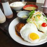 ゆめあとむ - 2014.07_十勝若牛ハンバーグ定食(1000円)