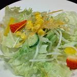 アムール - セットのサラダ