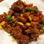 千里香 - 四川辣子鸡(辛口鶏肉唐揚げ):1,200円