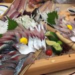 いけすの大漁や - サバとアジ