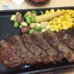 いけすの大漁や - 宮崎牛ステーキ