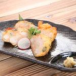 九州居酒屋 一丁目一番地 - 魚介たっぷり 薩摩揚げ