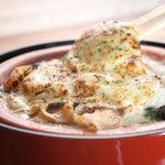 九州居酒屋 一丁目一番地 - 旬の魚介と百幸豆乳の グラタン