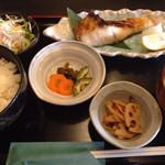 30480000 - 本日の焼魚定食(目鯛の佑庵焼き) ¥800