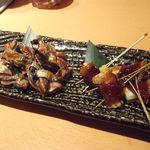 30481080 - 秋刀魚、鰤の照り焼き