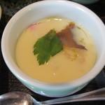 活魚小松 - 茶碗蒸し