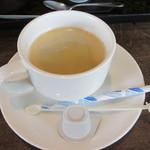 活魚小松 - セルフのコーヒー