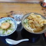 浅月 - 朝定食450円ネギ玉丼セット