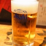 立ち寿司ホルモン 新鮮や! - 生ビール