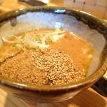 山原炉船 - 料理写真:旨味たっぷり濃厚味豚出し濃厚つけ麺