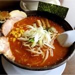 山形らーめん天童 - 辛味噌ラーメン800円