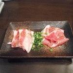 焼肉RESTAURANT カンドカン - 肉盛り合わせ(最初から提供)