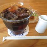 チョコ - ドリンクのアイスコーヒー