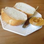 チョコ - パンといいバター