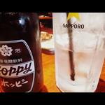 えんざ - ホッピーセット(映画のスクリーン風に仕上げてみた)