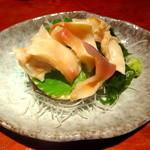 えんざ - 本日のおすすめ「ホッキ貝の刺身」