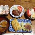 紀八 - 本日のお通したち。これで500円!