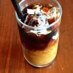 mouton valcitta - 食後のアイスコーヒー