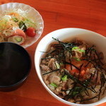 スハネフ14-1 - わさび醤油バター豚丼