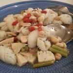 水前寺共済会館 グレーシア - イカと竹の子のナッツ炒め~♪