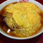 紅宝石 - 天津麺 エビ玉そば ¥600+税