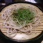 女鳥羽そば - 三段目 抹茶蕎麦