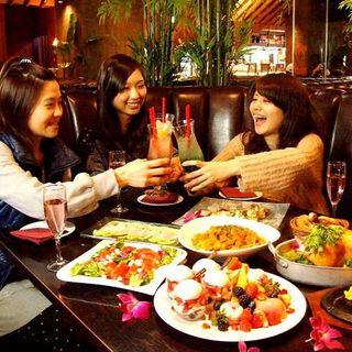 【肉食女子会】【女子会同窓会】【ランチ女子会】に人気♪