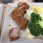 燕楽 - 上ヒレカツ定食2,160円