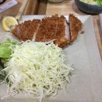 燕楽 - 上ロースかつ定食2,160円