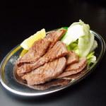 串かつ とんび - 牛たん塩焼き