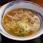 蕎麦屋やまぐち - やまぐち ランチ 冷たい肉中華 2014年8月