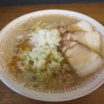 喜多方食堂 - 蔵出し醤油ラーメン600円