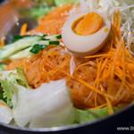 焼肉酒家 傳々 - ビビン麺【2014年8月】