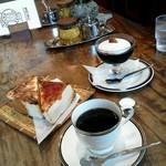 30498533 - 2014年 8月 ホットコーヒー&トースト&コーヒーゼリー