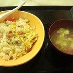30498539 - 焼きめし500円卵スープ付